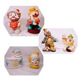 6 each CLOWN BANKS for children & baby rooms girls or boys in Olympia, Washington