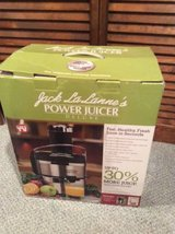 Jack LaLanne's Power Juicer Deluxe in Westmont, Illinois