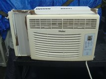 excellent used haier air conditioning window unit 5500 btu digital thermo 80303 in Huntington Beach, California