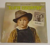 elvis presley 1971 elvis country sealed 12 inch album rca lsp-4460 33rpm in Yucca Valley, California