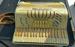 vintage trionfo accordion with case, made in italy in Byron, Georgia