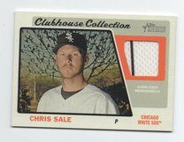 BOSTON RED SOX / CHICAGO WHITE SOX CHRIS SALE JERSEY CARD in Chicago, Illinois