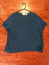 Teal Stretchy Alfred Dunner Shirt - sz XL in Camp Lejeune, North Carolina