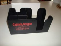 Brand New Promo CAPTAIN MORGAN Spice Rum Napkin Straw Coaster Holder in Brookfield, Wisconsin