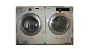 Samsung Front load washer & Dryer in Alexandria, Louisiana