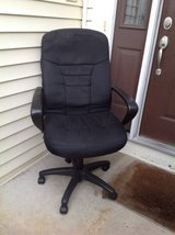 Black Upholstered Office Chair in Naperville, Illinois