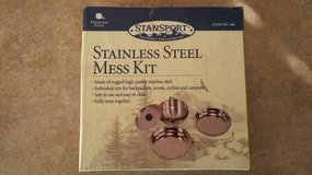 New - Stansport Stainless steel mess kit in Chicago, Illinois