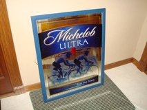 Ultra Rare Large 2002 MICHELOB ULTRA Beer Cycling Beer Mirror Sign!! in Brookfield, Wisconsin
