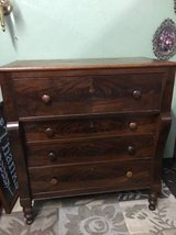 ANTIQUE EMPIRE CHEST OF DRAWERS in Fort Campbell, Kentucky