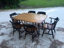 Dining Table w/ 6 Chairs in Camp Lejeune, North Carolina