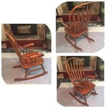 Rocking Chair Wooden Beautiful Like New Condition in Olympia, Washington