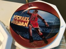 Michael Jordan Plate--6 time NBA Champion plate in Westmont, Illinois