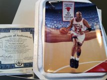 "Michael Jordan Plate--""Lookin' to Score"" in Westmont, Illinois"