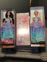 Barbie - Set of 2-- (Avon) Spring Tea Party in Westmont, Illinois
