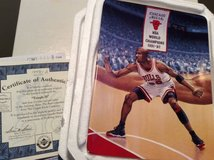 "Michael Jordan -- ""Tough D"" Porcelain--Hanging Plate in Westmont, Illinois"