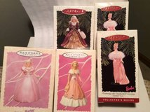 Barbie Ornaments--5 in all for only $50 in Bolingbrook, Illinois