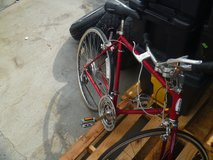 used condition vintage red schwinn bicycle from late 70s-80s road bike 80298 in Huntington Beach, California