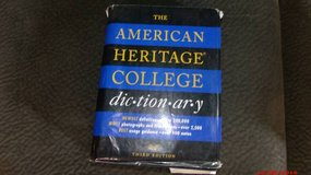 "The American Heritage College Dictionary $5 ""The Back Forty"", Adel in Moody AFB, Georgia"