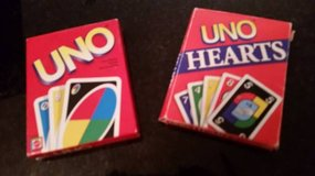 Uno Card Game and Uno Hearts Card Game in Orland Park, Illinois