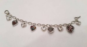 Brighton Go Red 2005 Charm Bracelet in Bolingbrook, Illinois