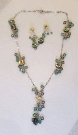 Crystal Necklace and Earings - Swarovski Crystals - very sparkly in Orland Park, Illinois