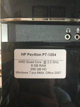 HP Pavilion P7-1254 in Naperville, Illinois