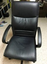 Leather executive desk chair in Joliet, Illinois