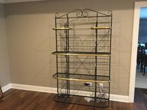 Classic Brass Bakers rack in Naperville, Illinois