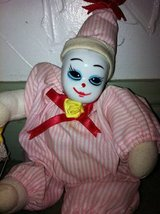 2 Small Porcelain Clown Dolls in Chicago, Illinois