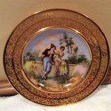 Vintage--Porcelain Bowl--24Kt Gold Encrusted - Germany. 1930s in Glendale Heights, Illinois