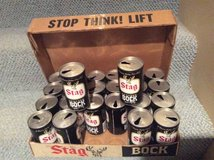 Stag Bock Beer Cans--24 cans in Wheaton, Illinois