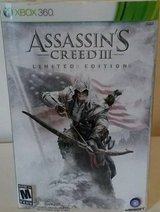 NEW Assassin's Creed III 3 XBOX 360 Limited Edition Bundle Set Statue in Glendale Heights, Illinois