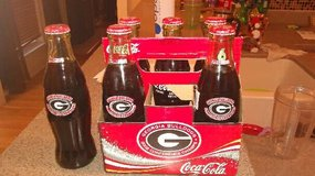 2002 Georgia Bulldog SEC Champs Coca-cola 6 pack in Warner Robins, Georgia