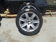 two used 2000 bmw 325 wheel alloy rims 17-inch michelin tires 245/45r17 80287 in Fort Carson, Colorado