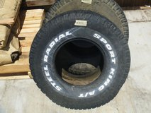excellent pair of sport king steel radial off road tires 33x12.50r 15lt 80296 in Huntington Beach, California