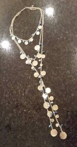 Necklace - Multi Strand Gold and Crystals in Westmont, Illinois