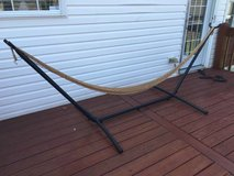 Full size hammock stand and hammock in Fort Knox, Kentucky