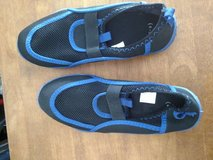 blue swim shoes in Fort Bliss, Texas