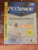 new  petarmor for dogs squeeze-on xlarge xl dogs 89-132lbs 6 applications in Morris, Illinois