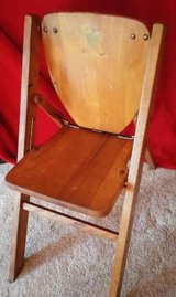 Child's Folding Chair, Vintage in Bolingbrook, Illinois
