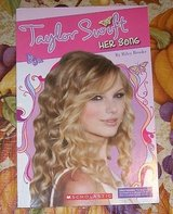 Taylor Swift HER SONG softcover BOOK by Riley Brooks PHOTOS Scholastic in Morris, Illinois