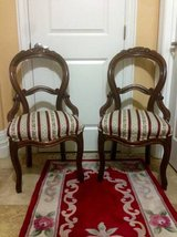 Pair Victorian Parlor Chairs in Travis AFB, California