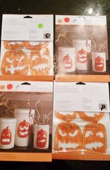 Halloween  Jack-o-lantern Window Clings -Martha Stewart- New in Packag in Glendale Heights, Illinois
