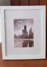 Picture Frame - White Wood 8 x 10 or 5 x7 with mat in Orland Park, Illinois