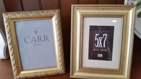 Gold Picture Frames 5 x 7 - 2 available in Naperville, Illinois