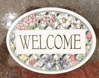 Sign - Ceramic - Welcome in Bolingbrook, Illinois