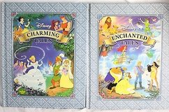Disney Enchanted & Charming Tales 2 Hardcover Books 16 Stories in Plainfield, Illinois