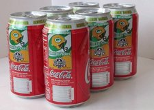1996 Packers Collectible Coke Cans in Schaumburg, Illinois