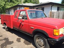 1990 f250 diesel extended cab with stahl box in Bolingbrook, Illinois