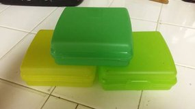 3 Tupperware Sandwich Keepers in Moody AFB, Georgia